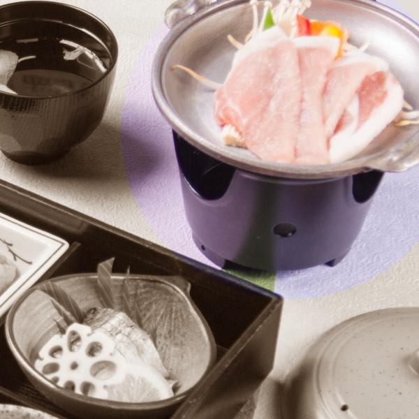 豚陶板焼き