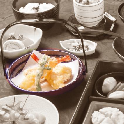 旬の天ぷら盛り合わせ